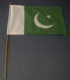 Pakistan Country Hand Flag - Medium (stitched).